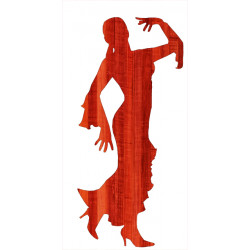 FLAMENCO DANSEUSE